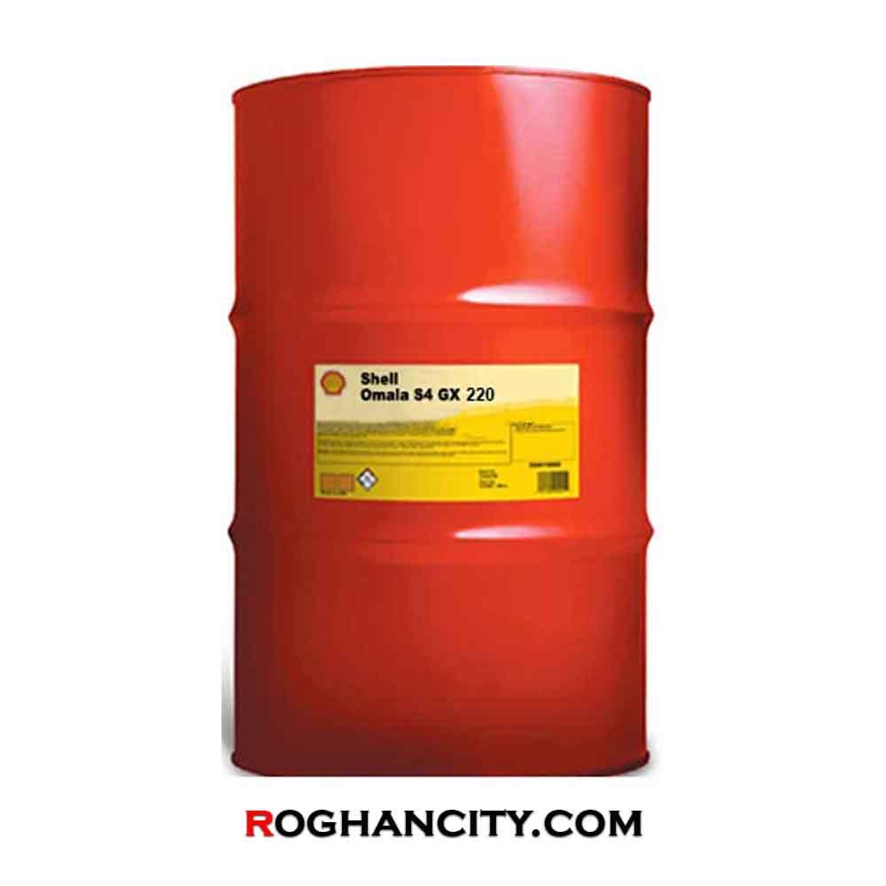 روغن دنده صنعتی Shell Omala S4 GX 220