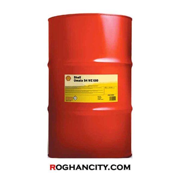 روغن دنده صنعتی Shell Omala S4 WE 680