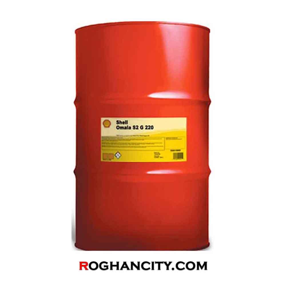 روغن دنده صنعتی Shell Omala S2 G220